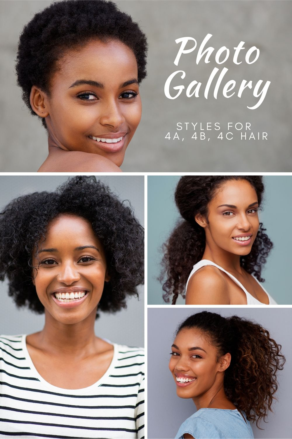 Gallery Of Haircuts and Styles For 4a, 4b, 4c Hair Types