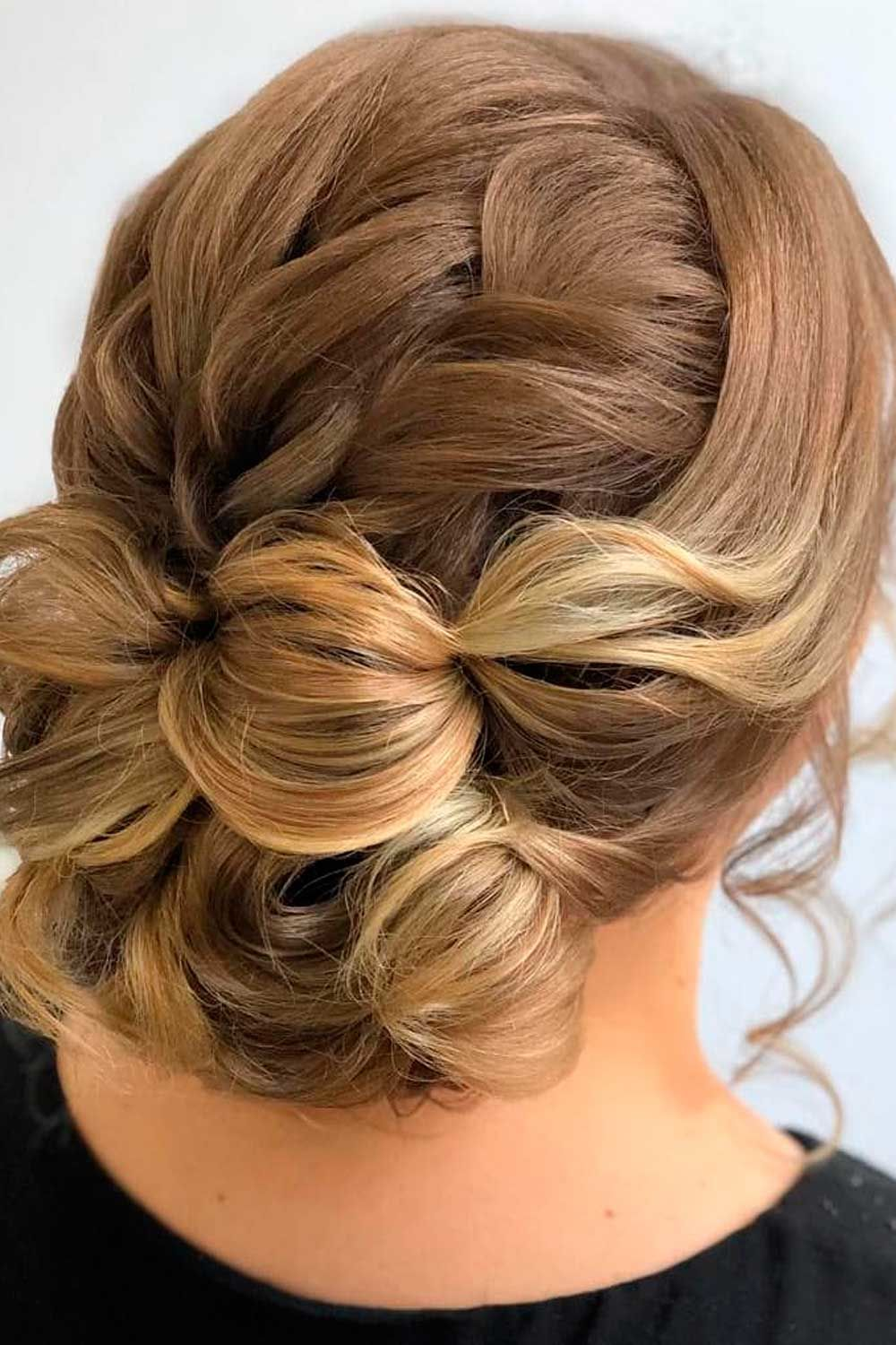 Textured Updo With Twisted Curls