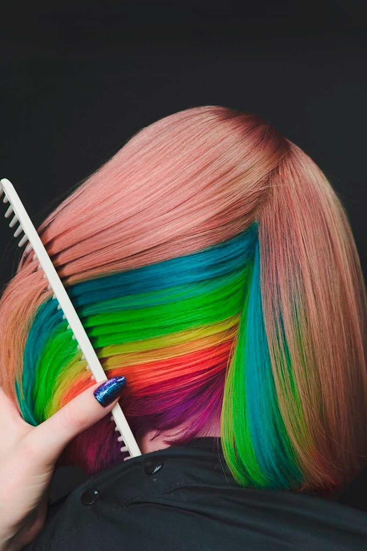 Peekaboo Hidden Rainbow