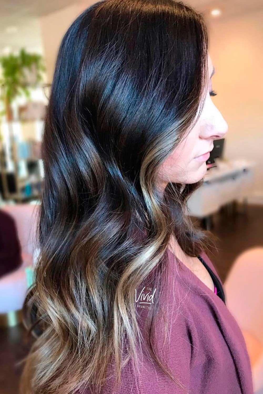 Ash Dark Brown Hair Color