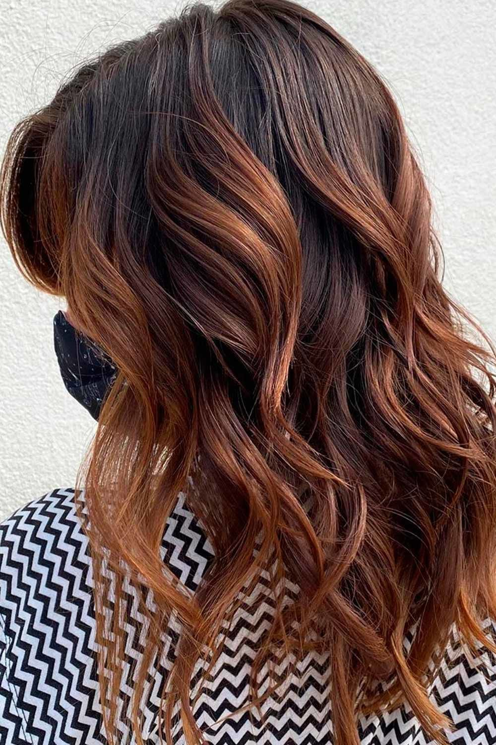Lovely Caramel Brown Hair