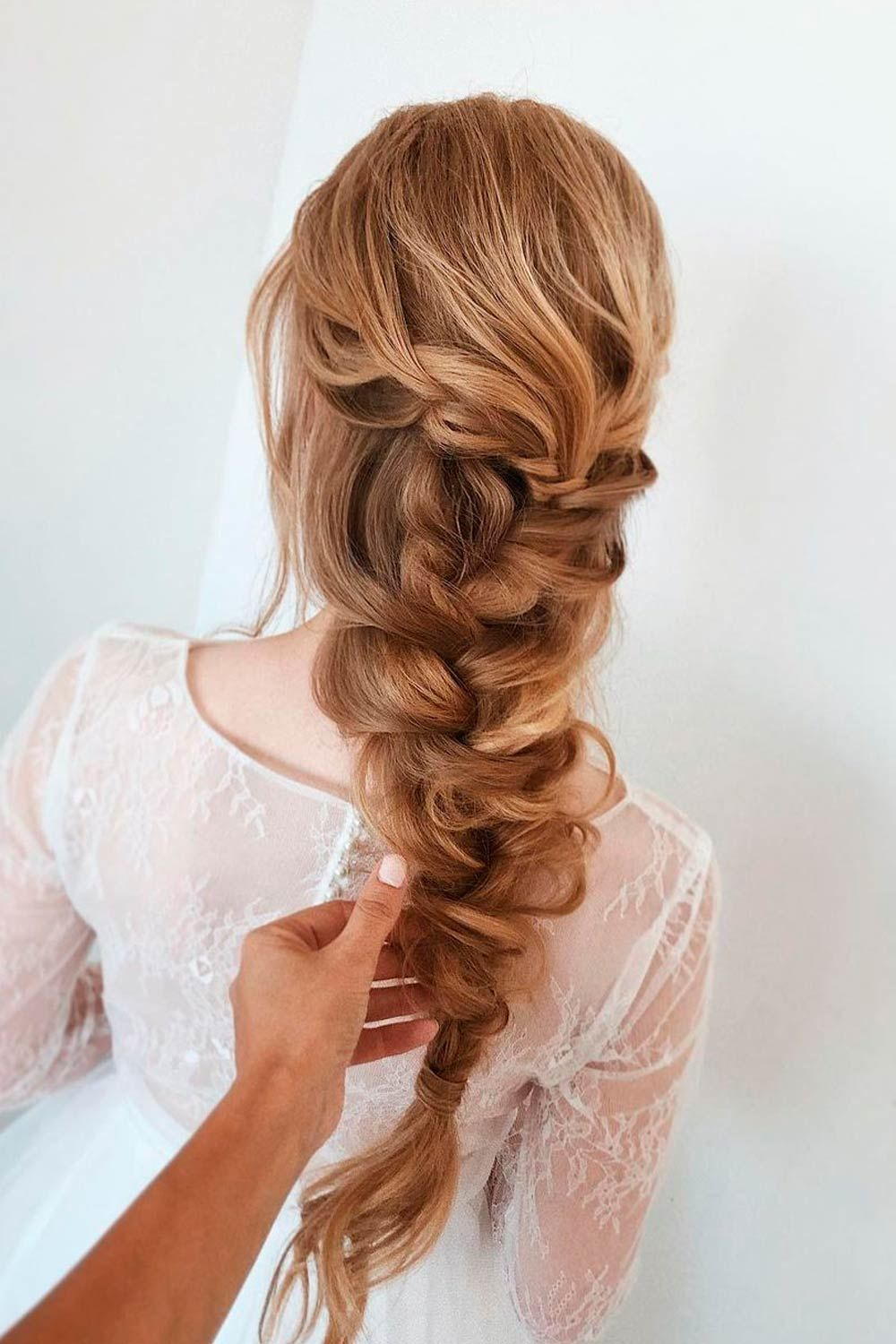 Long Hair With Braid Hairstyle
