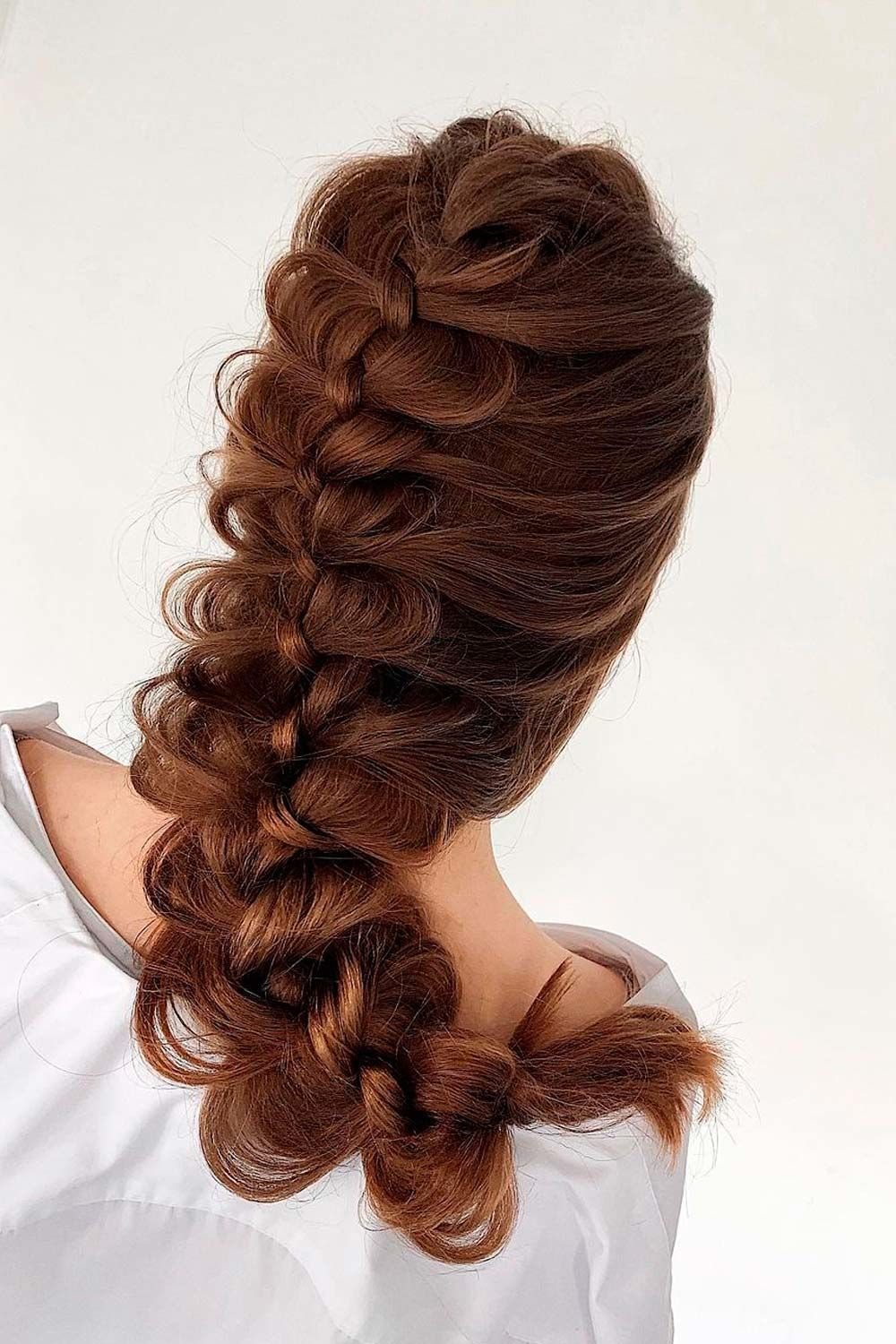 Hairstyles For Long Hair With Messy Braid