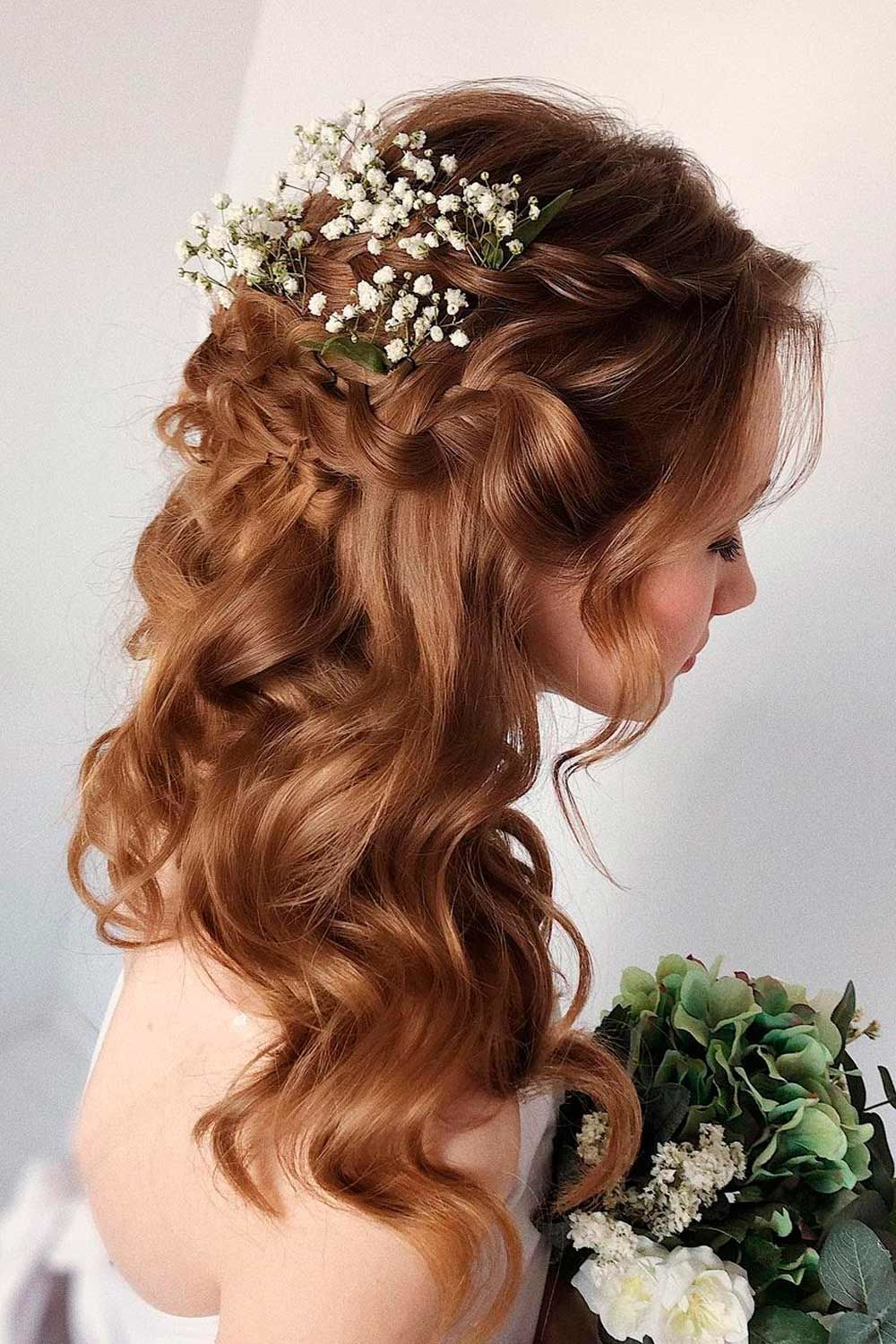 Accessorized Long Formal Hairstyles