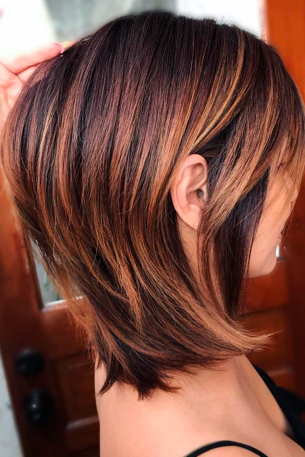 Coppery Golden Brown