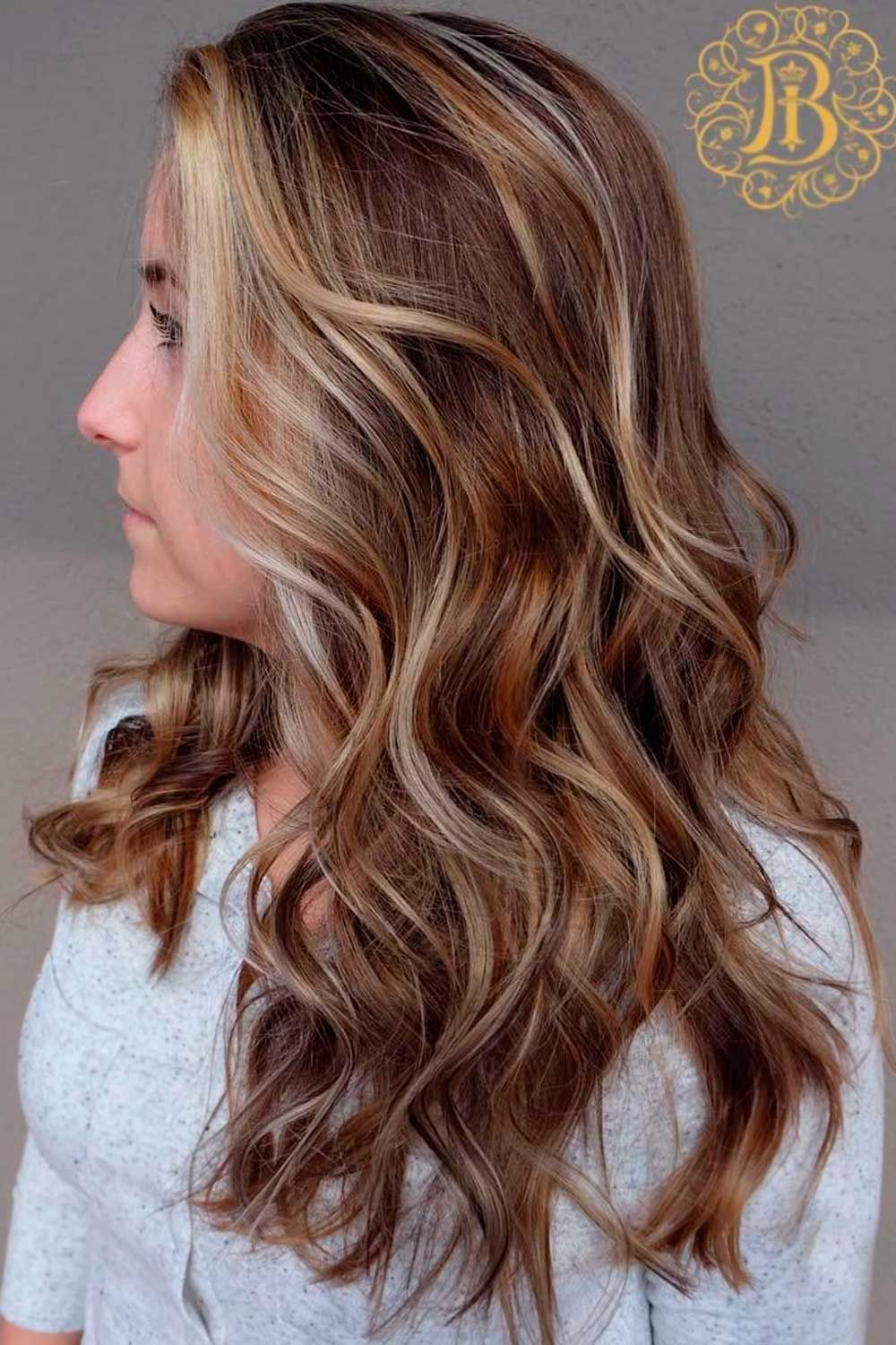 Light Brown With Pastel Gold