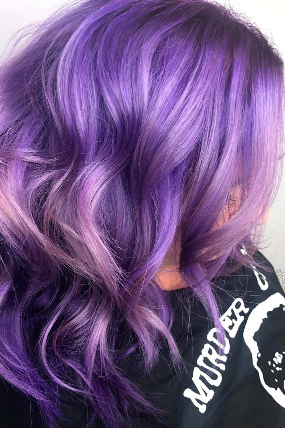 35 Unique Purple And Black Hair Combinations Lovehairstyles Com