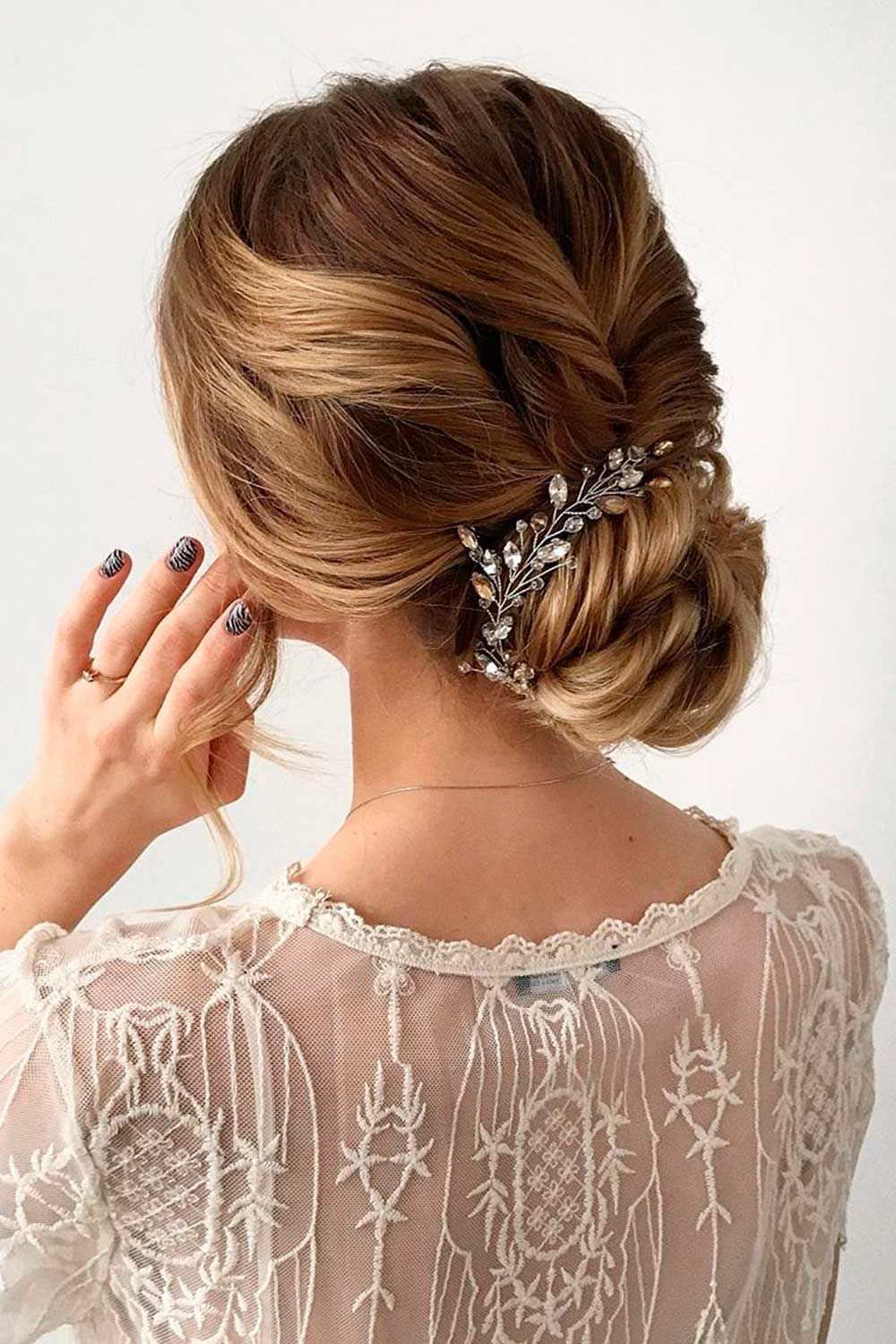 Gorgeous Updo With Accessories