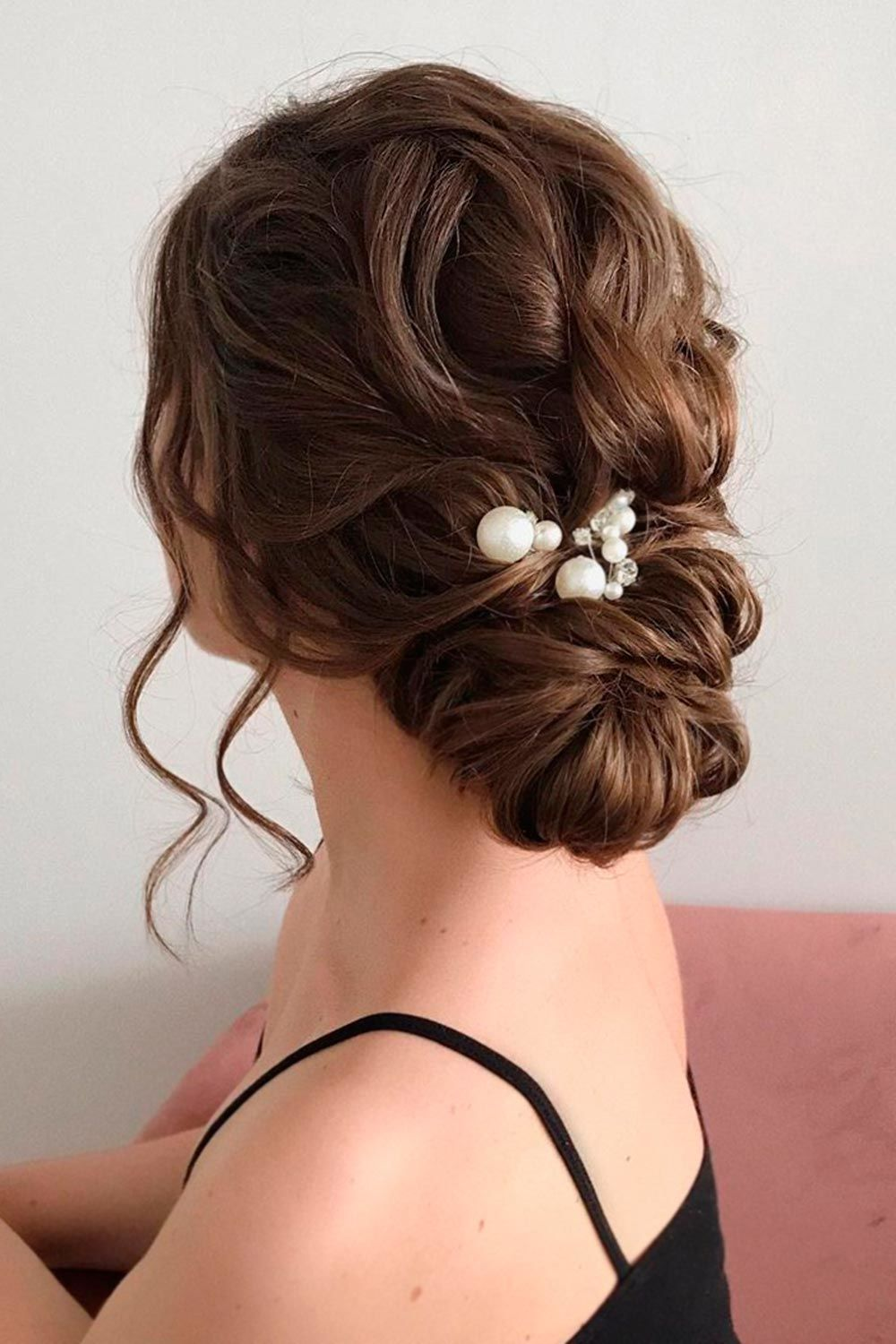 Wavy Updo Hairstyle