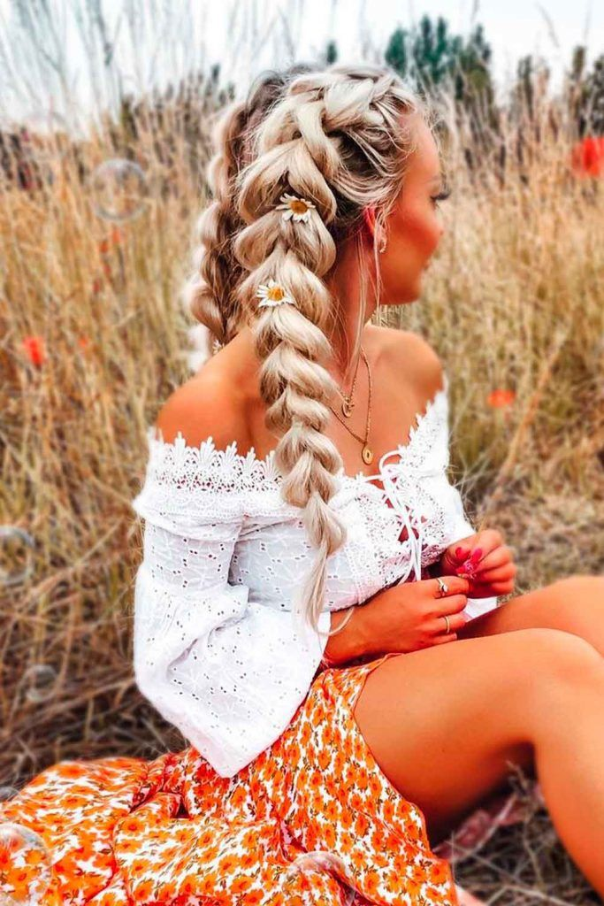 Double Dutch Braids,very long hairstyles for women with diamond face shapes, diamond face shapes hairstyles, haircut for diamond shaped face