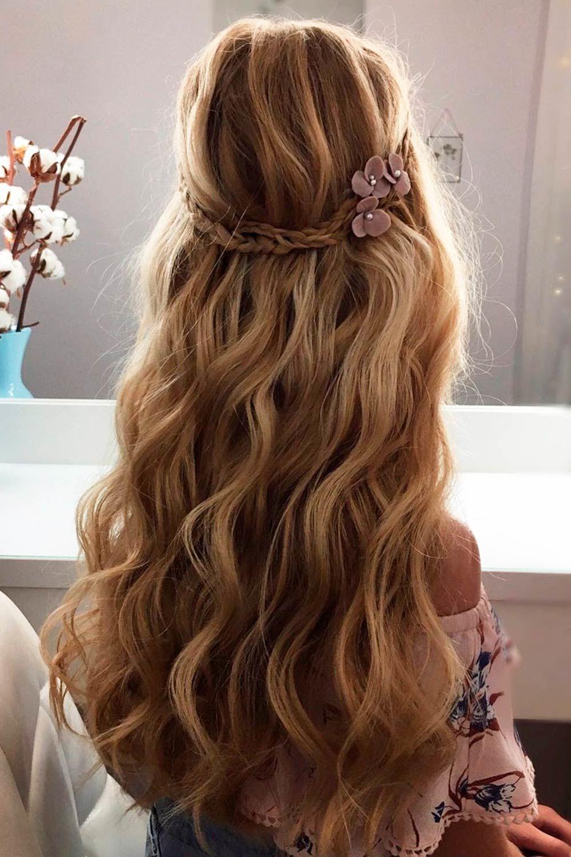 Braided Half Up Half Down Hairstyles