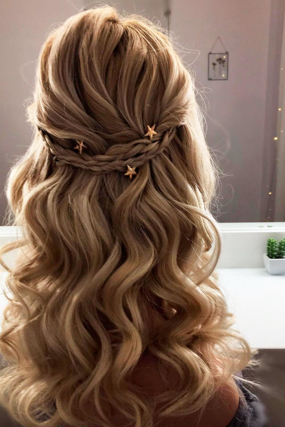Lovely Braided Half Up Half Down Hairstyles