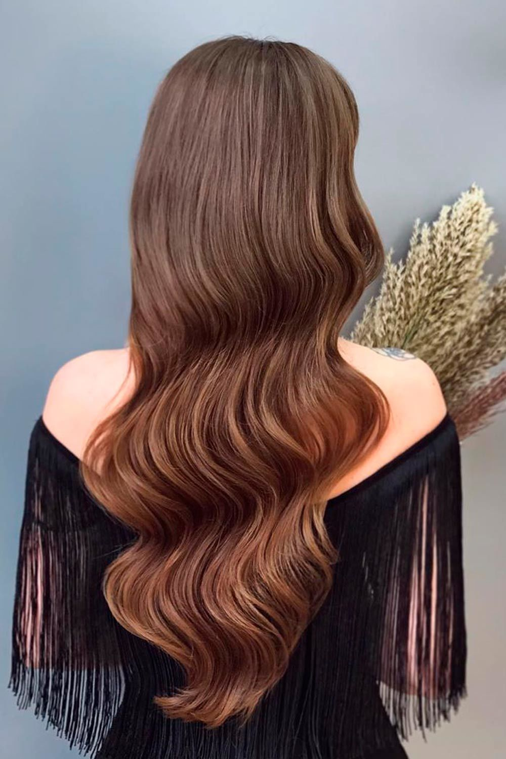 Beautiful Hollywood Wavy Styling