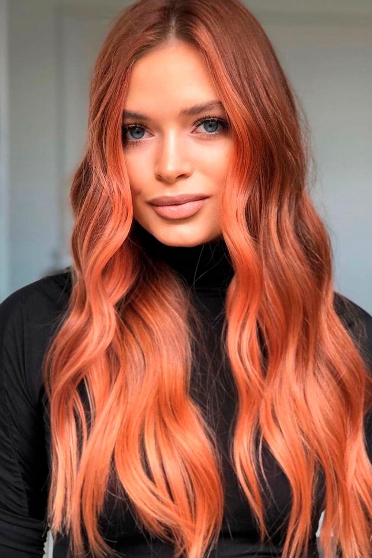 Face Framing Highlights Reddish Hair