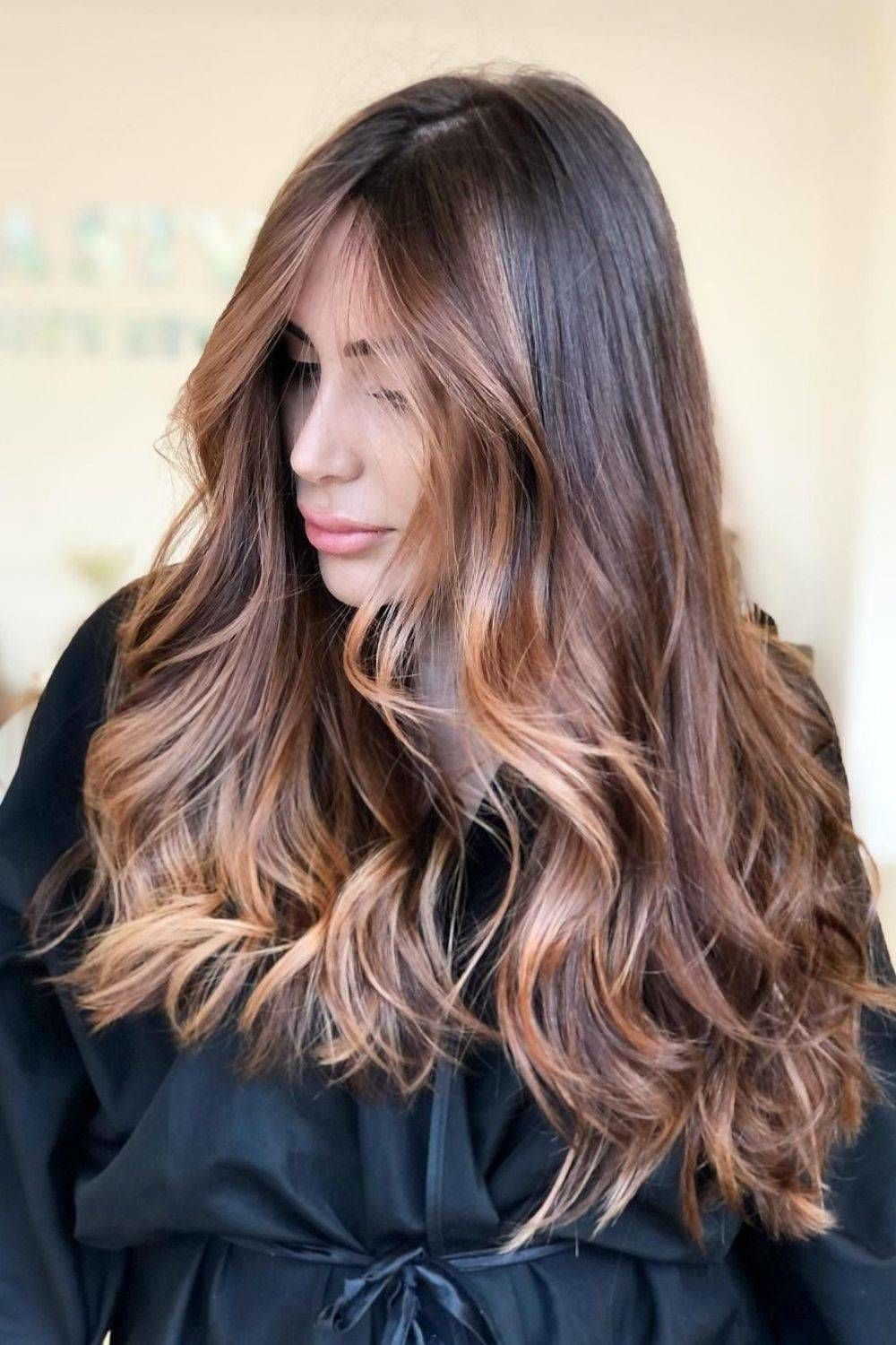 Front Highlights Brown Hair