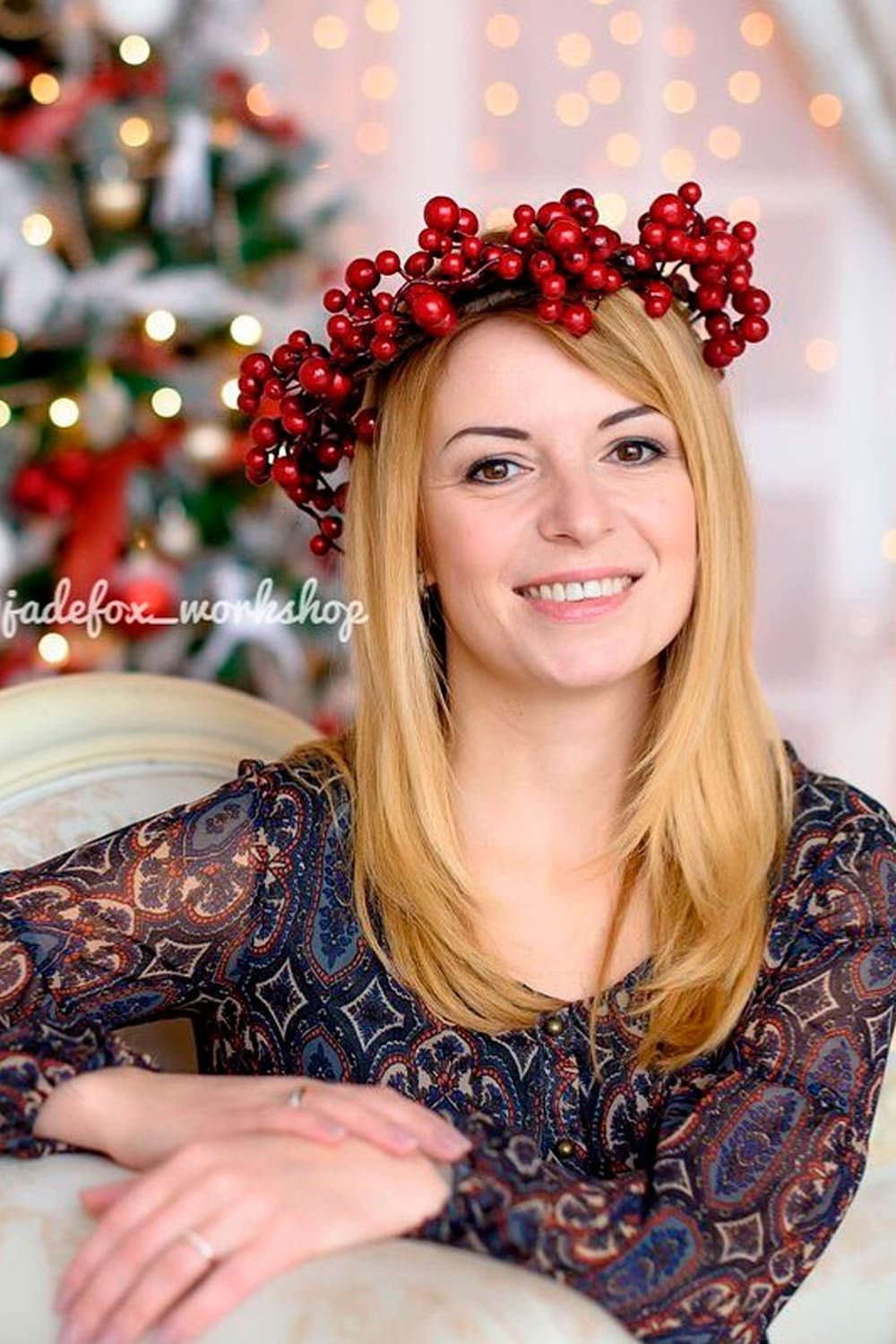 Tematic Christmas Headbands For Women