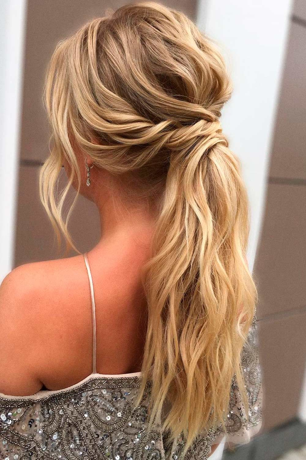 Nice Ponytail Hairstyles For A Holiday