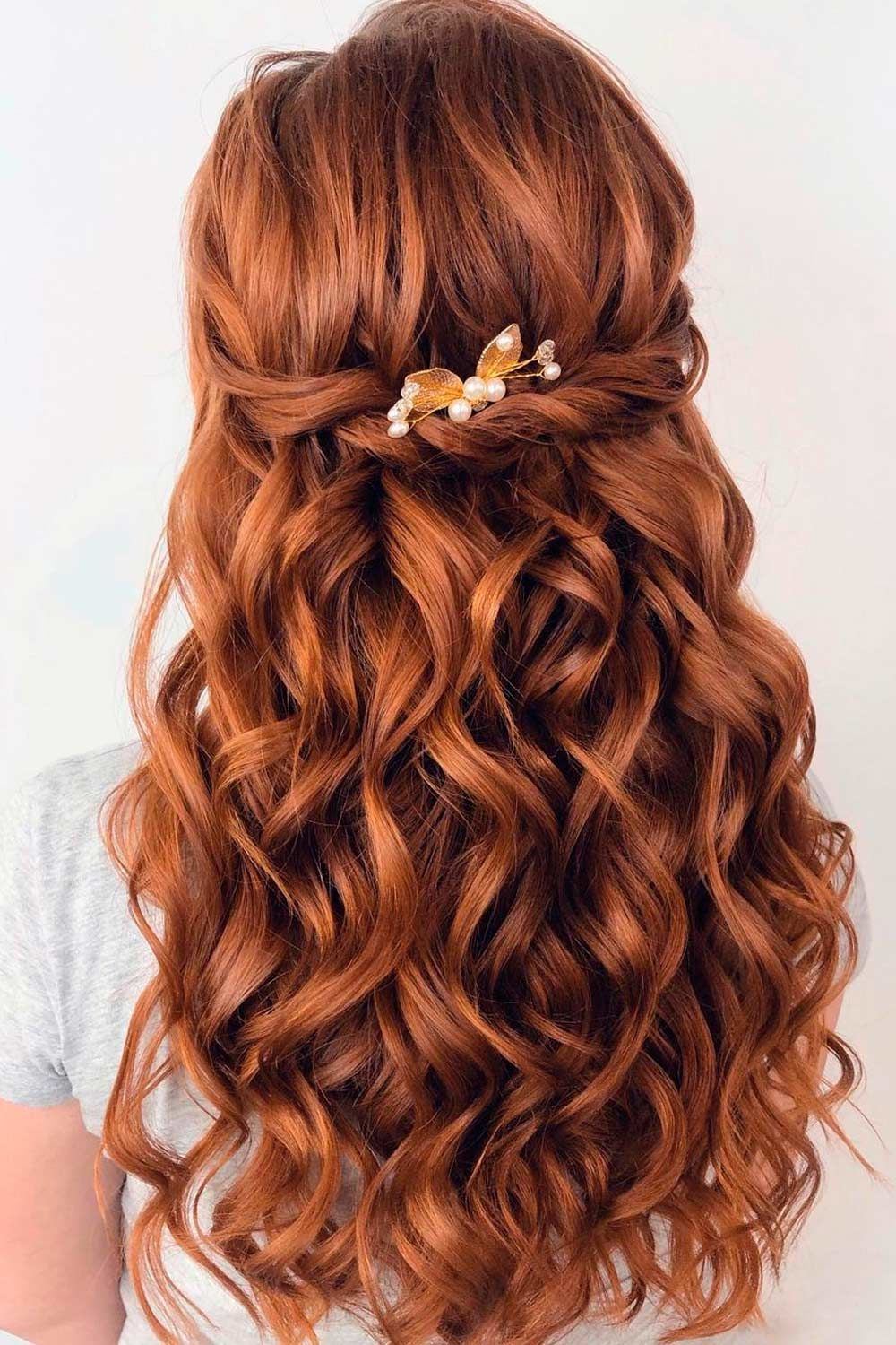 Half-Up Twisted Hairstyles