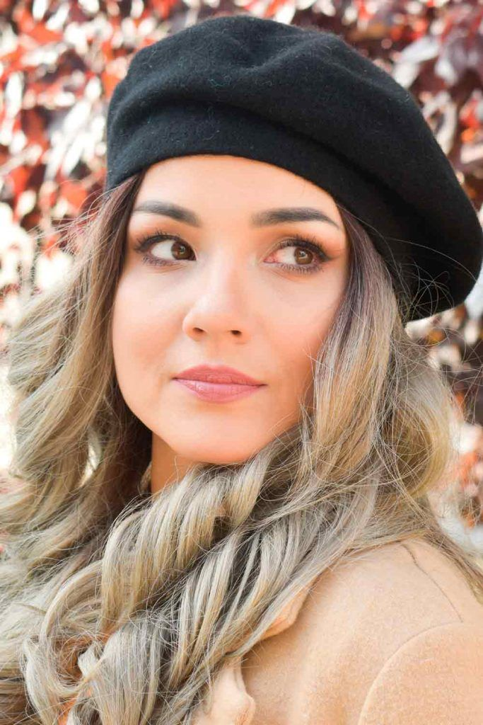 Ideas How To Wear A Beret beret hairstyles, beret looks, beret hair