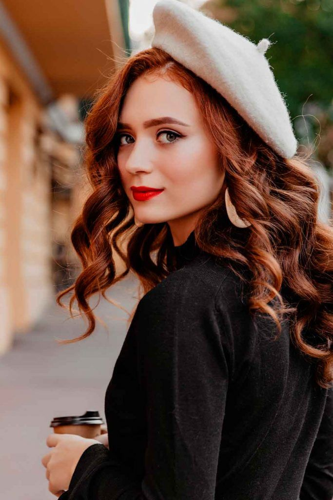 How To Wear A Beret how to wear a french beret, beret hair, hair beret