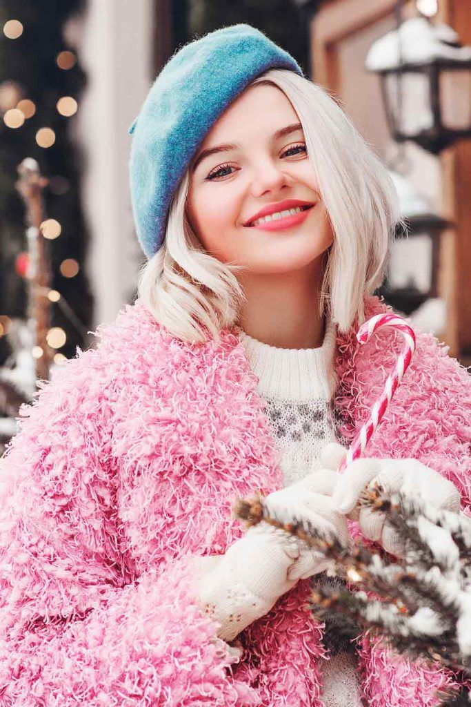 Keep the Seasons in Mind^ Winter, beret short hair, how to wear a french beret, how to wear a beret with short hair