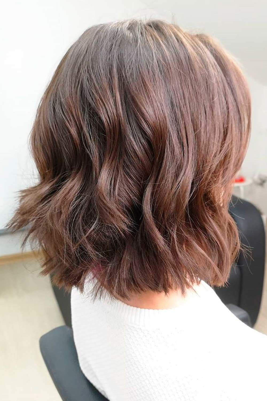 Short Bob Haircut For Wavy Hair
