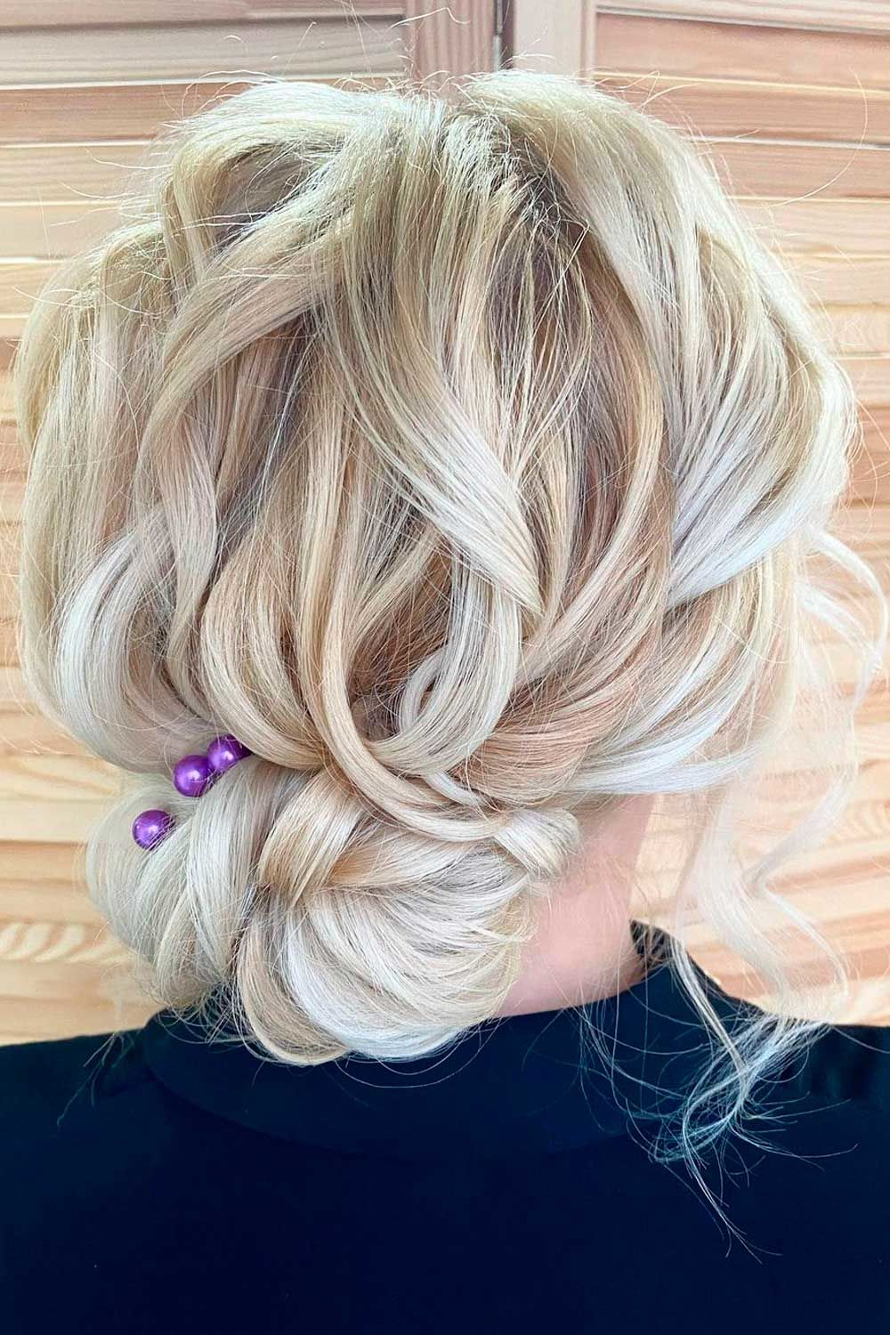 Updo Hairstyles With Accessories for Party