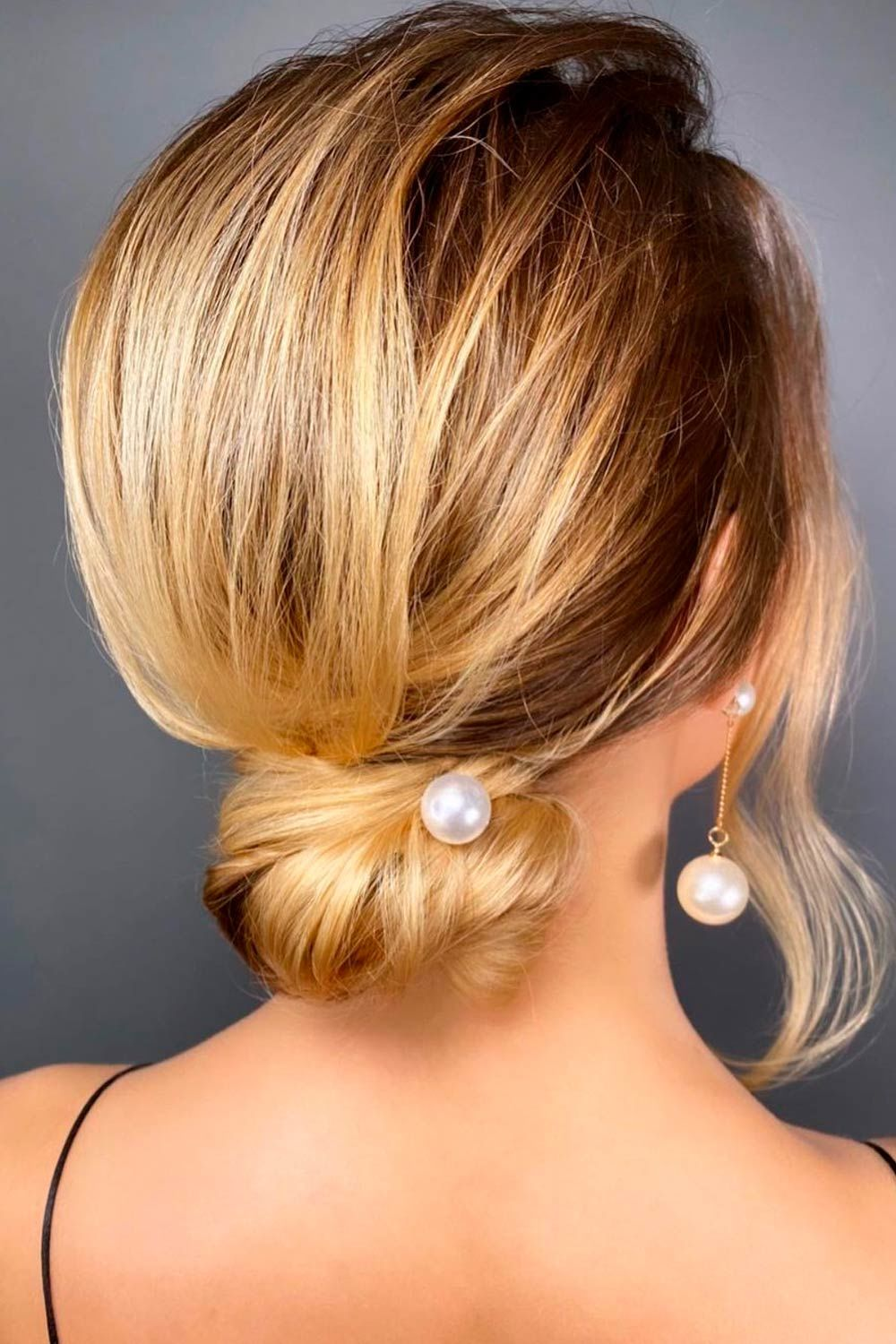 Updo Hairstyles With Accessories for Christmas Party