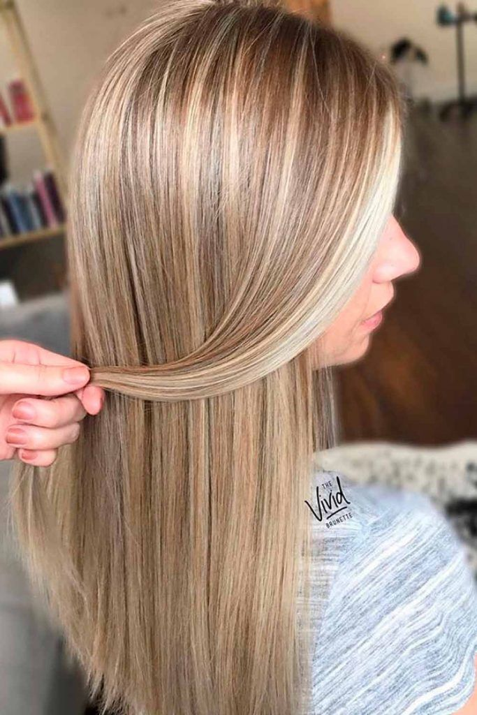 Straight Blonde Long Hair 1a natural hair, straight blonde hair, straight balayage hair
