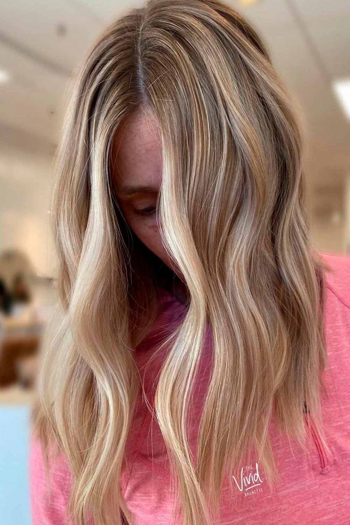 Long Blonde Hair With A Little Wavy Touch 1c curly hair, straight blonde hair, straight layered hair