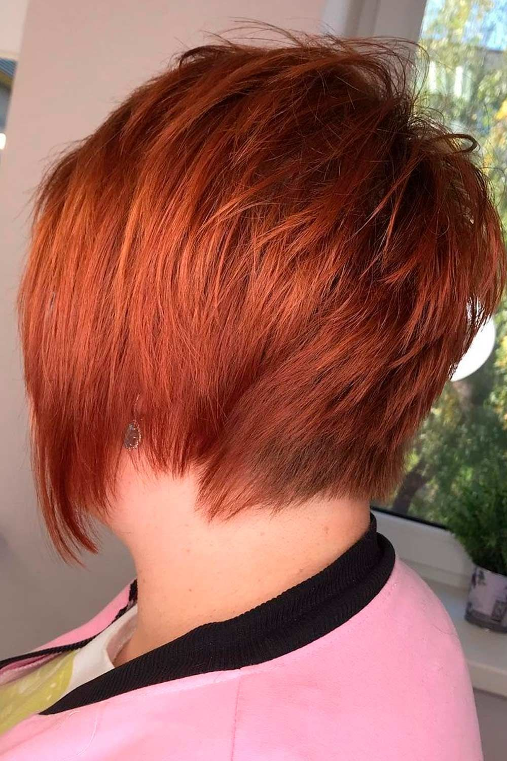 Edgy Short Layered Haircut for Thin Hair