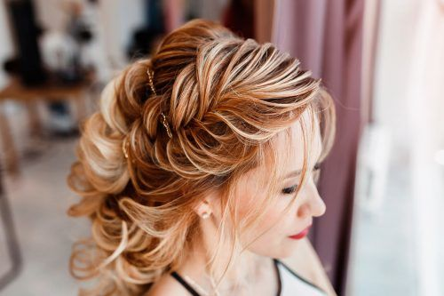 Christmas Party Hairstyles For Wavy Hair