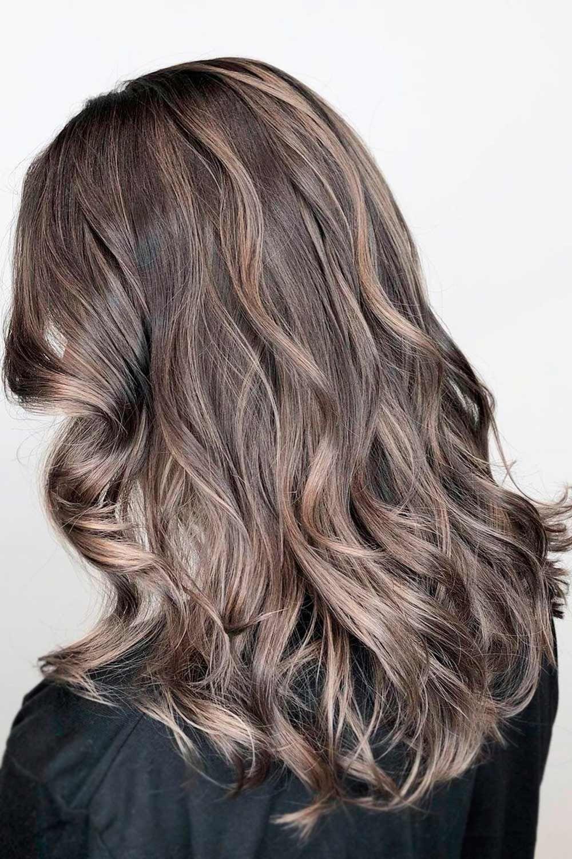 Ash Dark Brown Hair Colors for Winter