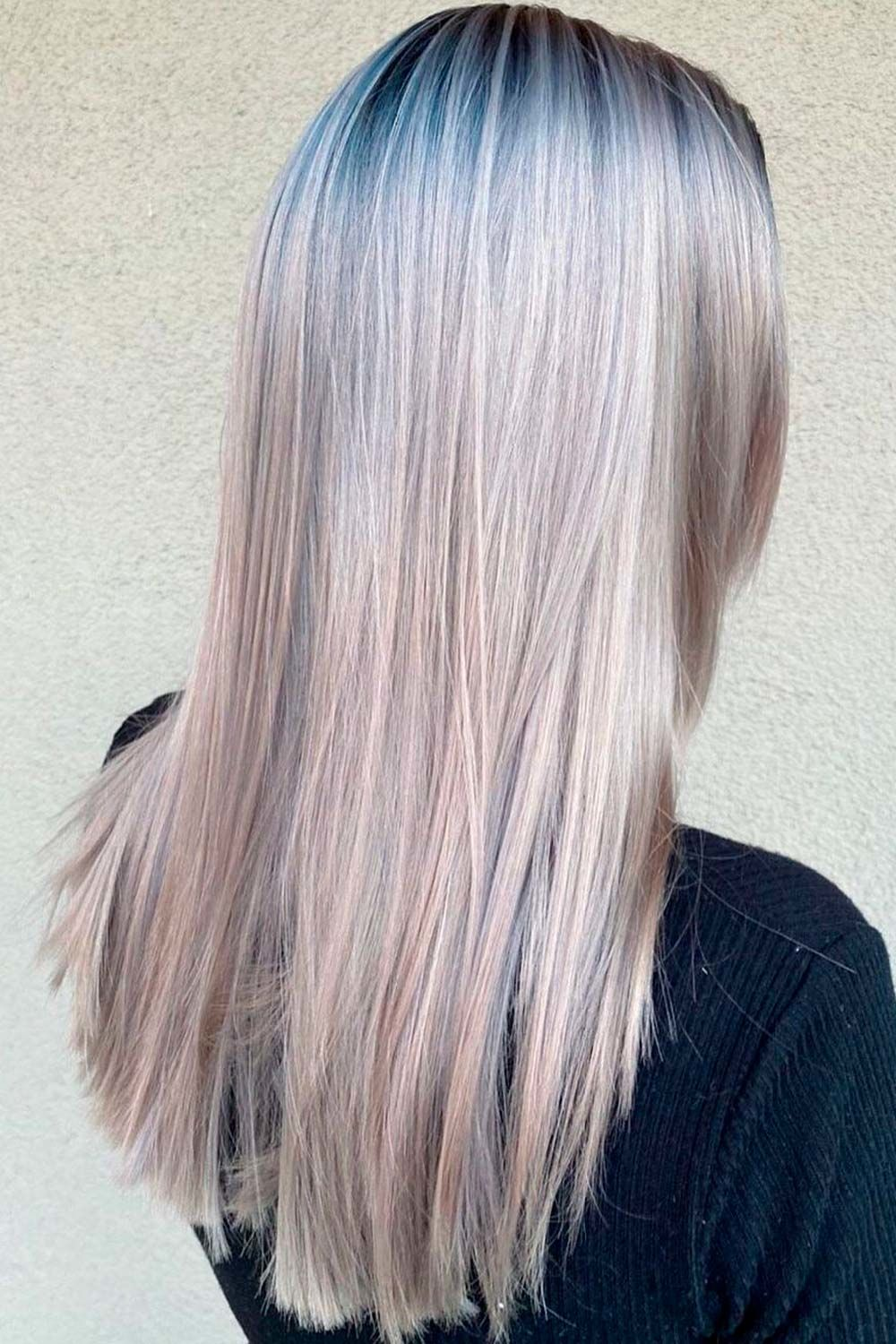 Grey Hair Color For Winter