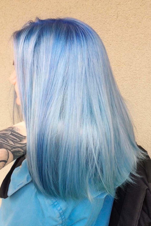 Cloud Blue Hair