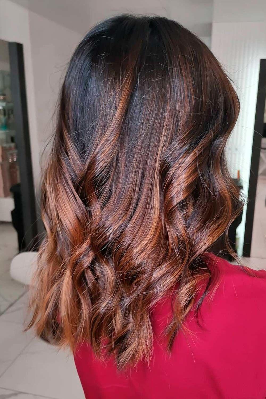 Dark Caramel Hair