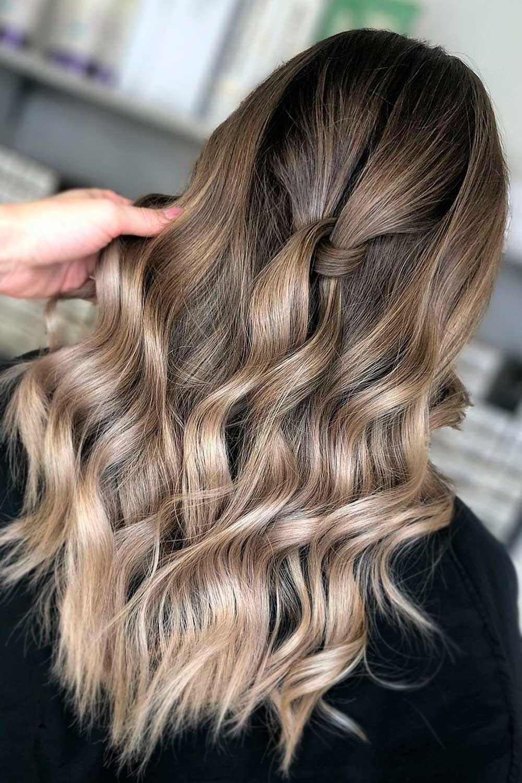 Light Ash Brown Hair Color, ash blonde highlights on light brown hair, ash blonde balayage on brown hair