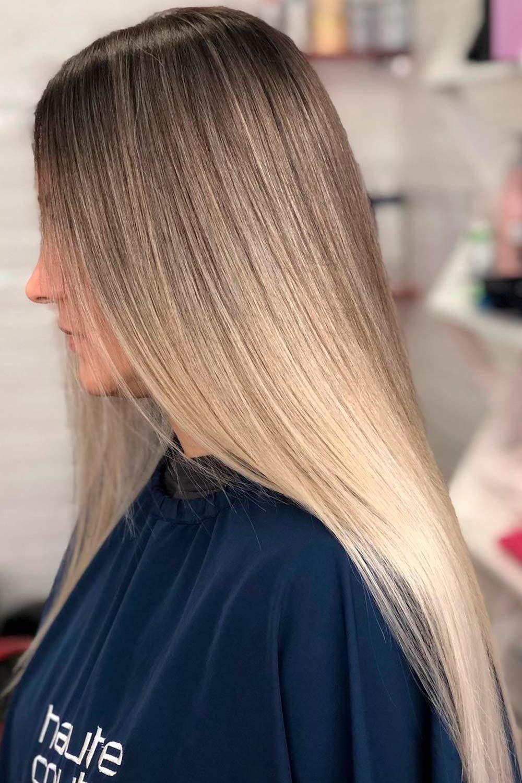 Beautiful Ash Brown Hair Ideas For Long Hair, ash blonde brown hair, ash brown balayage on dark hair, ash brown asian hair