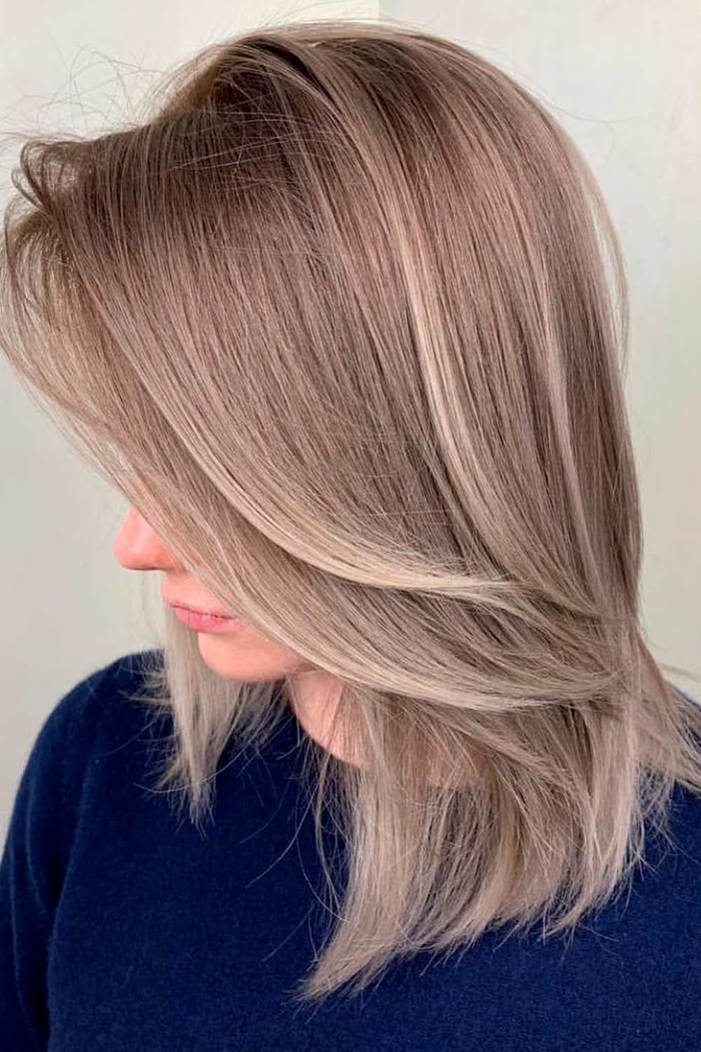 Natural Ash Brown Looks, how to tone brown hair to ash, ash light brown hair, ash brown balayage hair