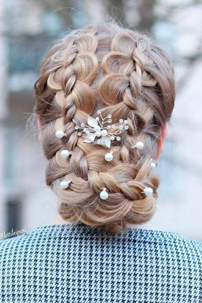 Updo Braided Hairstyles For Long Hair For A Special Occasion, braided updo long hair, hair braids for long hair, long braids styles, long hairstyles with braids