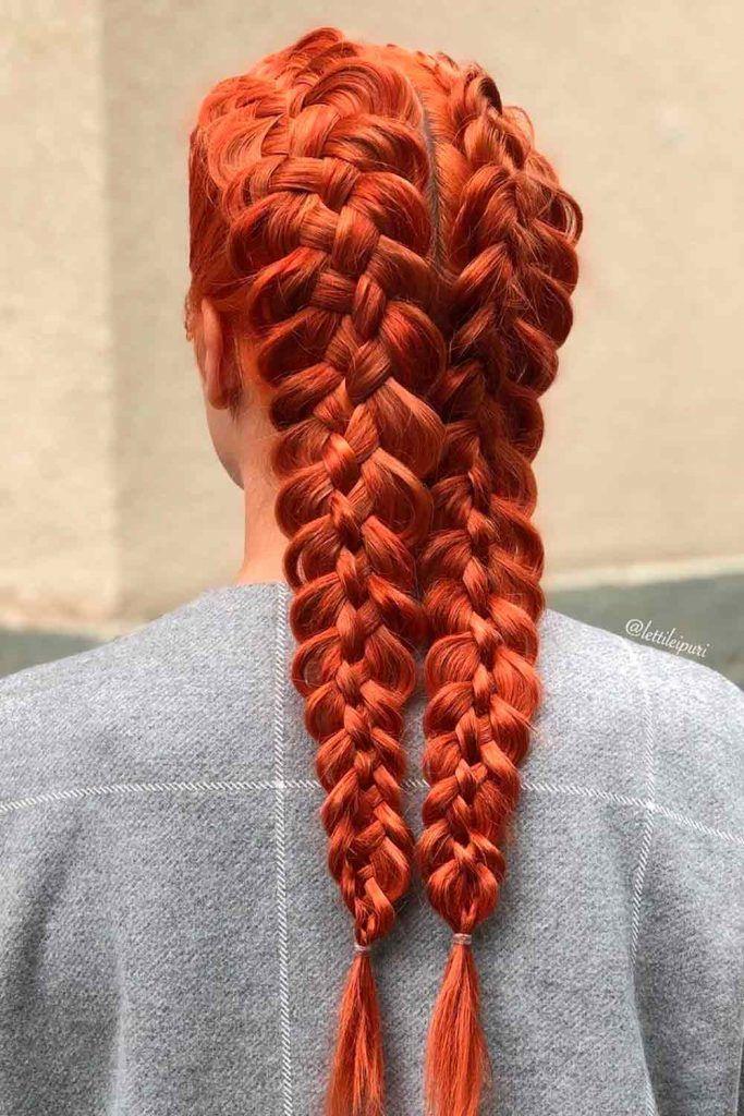 Double Braided Hairstyles For Long Hair, 2 long braids, long french braids, hair braids for long hair, braids long hair