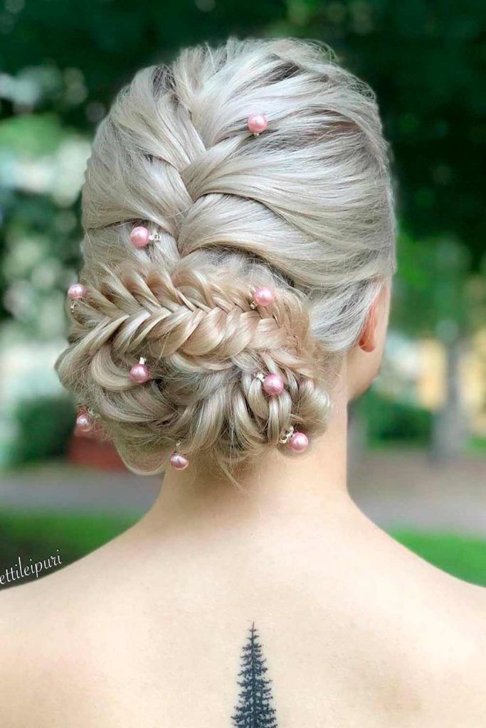 Different Ways To Look Special With Fishtail Braided Hairstyles For Long Hair, easy braided updos for long hair, braided hairdos for long hair, braided updo long hair, braids for long hair