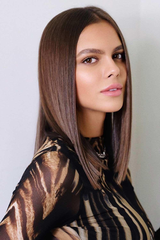 Medium Chocolate Brown #brownhair #brunette