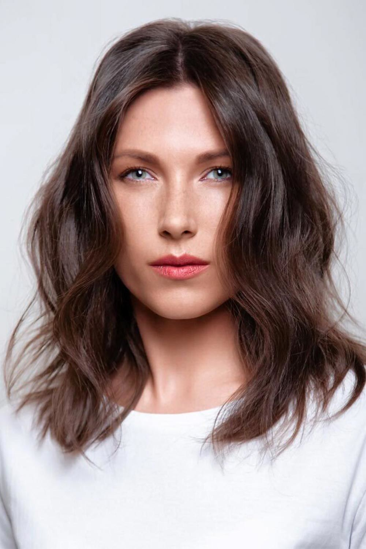 Wood Brown Hair #brownhair #brunette