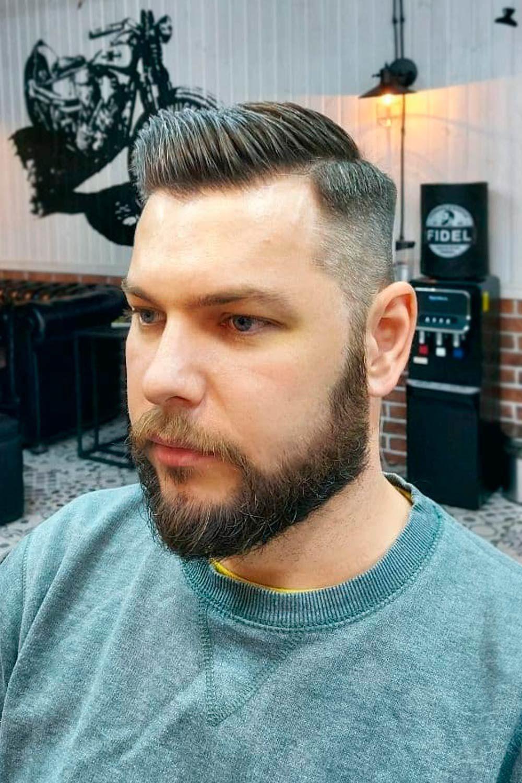 Crew Cut With A Beard, boy crewcut, short crewcut, american crewcut