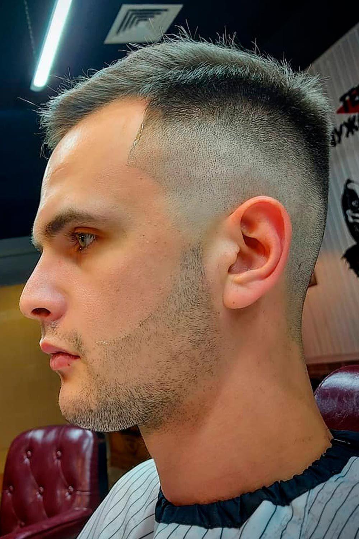 Short Crew Cut, crew haircut, crew men's hair, crew-cut