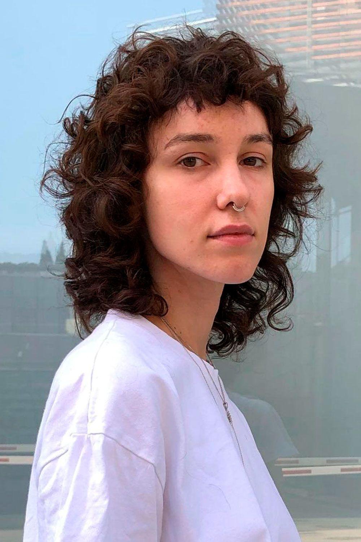 Curly Hair Bangs Trend, short curly bangs, curly hairstyles with bangs, bangs on curly hair