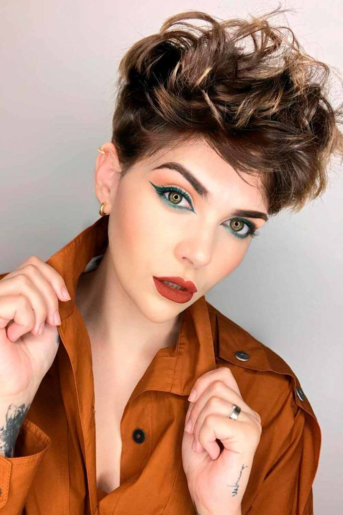 Shaggy Curly Pixie Cut, pixie cut for curly hair, how to style a curly pixie cut, pixie cut curly