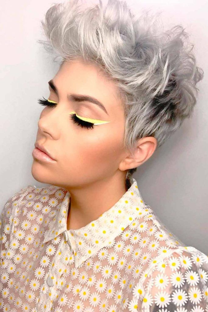 Pixie Curly Cut With Carefree, Tousled Waves, curly long pixie cut, pixie cut curly hair, pixie curly hairstyles