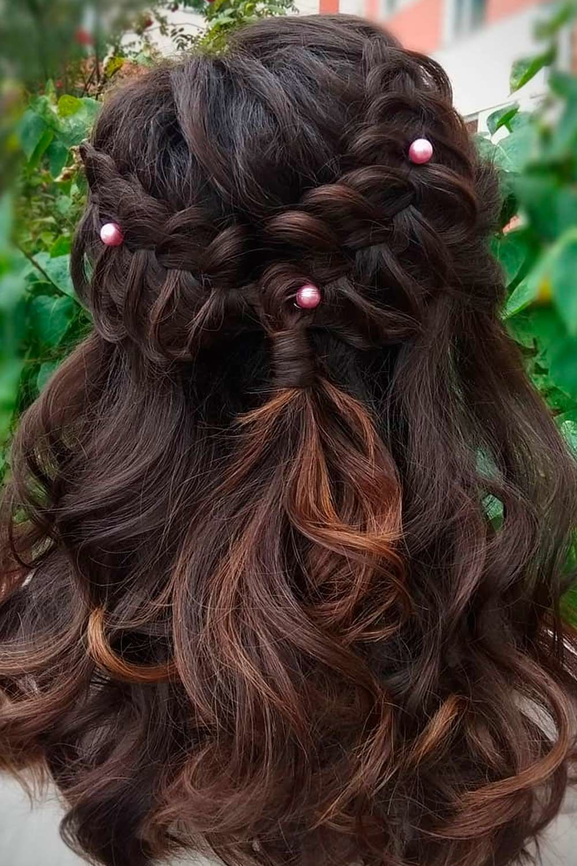 Half-Up Dutch Braid, side dutch braid, how to dutch braid hair, easy dutch braid
